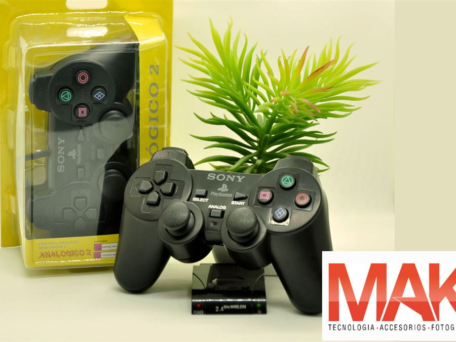 Joystick PS2 - InfoGuia Traslasierra - Joystick PS2 con cable[--ENTER--] Joystick PS2 inalambrico