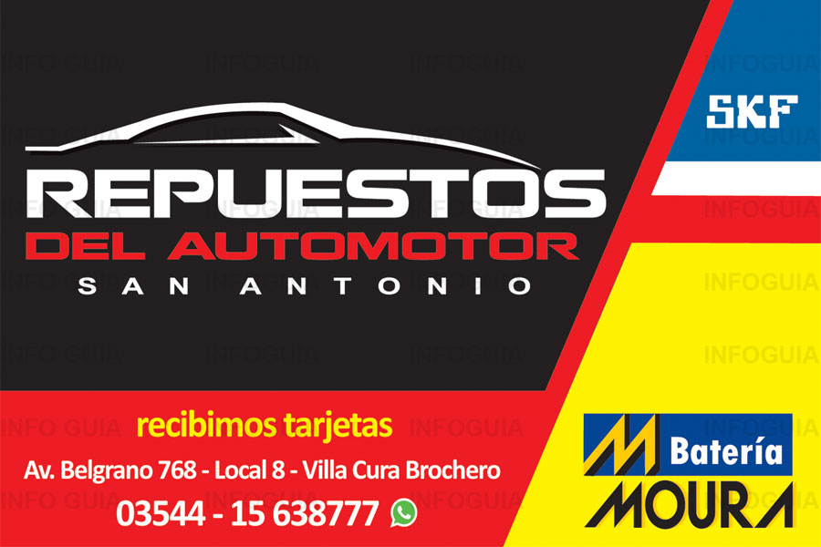 Repuestos del automotor san antonio villa cura brochero for Sierra motors san antonio tx