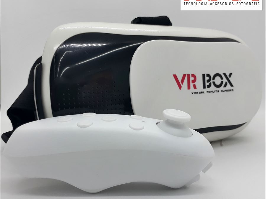 Casco de realidad virtual - InfoGuia Traslasierra - Casco de realidad virtual[--ENTER--] Con joystick bluetooth[--ENTER--]