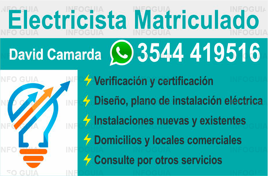 Electricista Matriculado David Camarda - Undefined