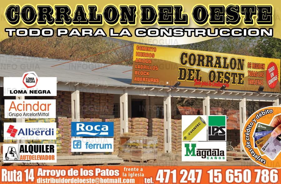 Corral N Del Oeste Arroyo De Los Patos