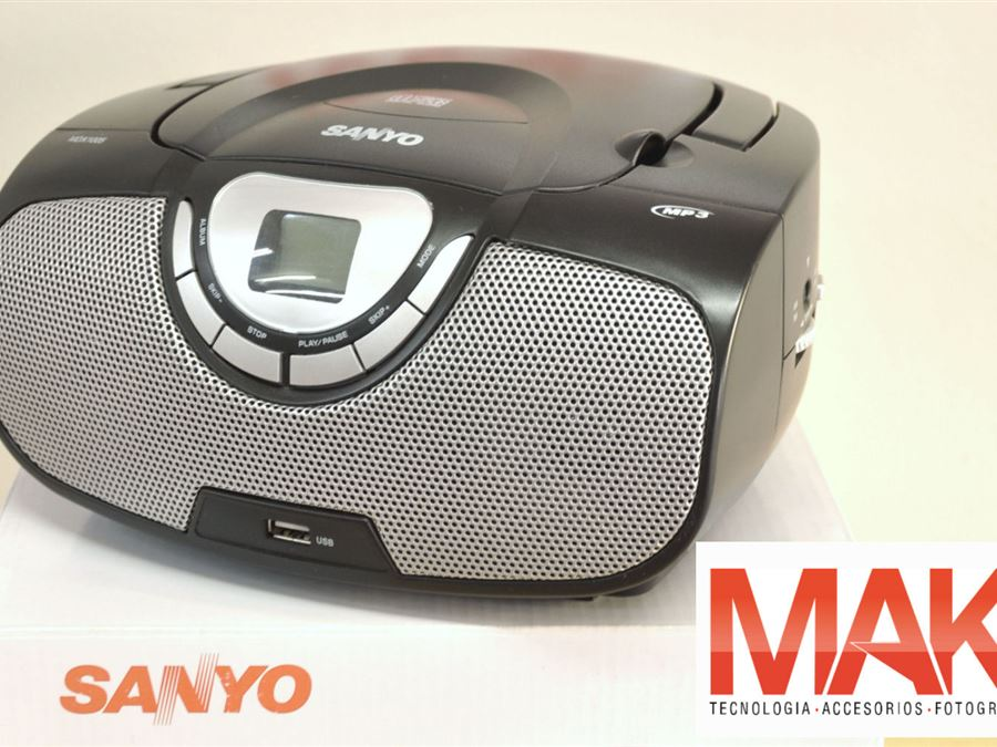 Reproductor de CD - InfoGuia Traslasierra - Reproductor de CD/MP3 con puerto USB (pendrive)[--ENTER--] Eléctrico y a pilas, Radio FM/AM