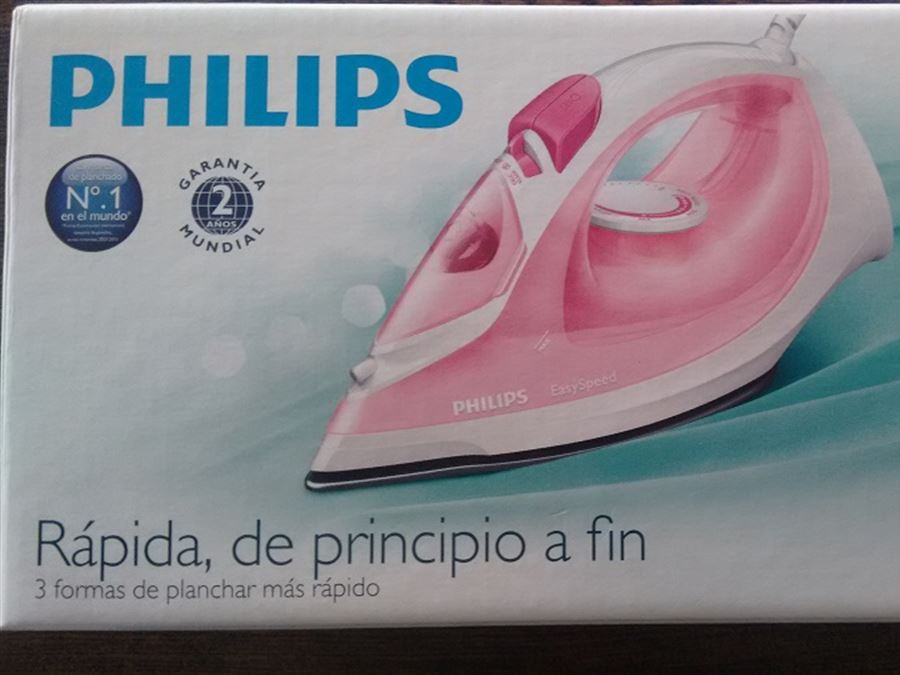 Plancha Philips  GC1022 Easy Speed - InfoGuia Traslasierra - Plancha Philips  GC1022 Easy Speed